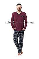 Піжама чоловіча ELLEN зі штанами Бордо до 4XL 028 001 c9d69af68809e