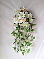 Роза и лялия  80 см
