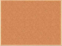 Доска пробковая Buromax JOBMAX, 45x60см, деревянная рамка