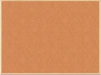 Доска пробковая Buromax JOBMAX, 60x90см, деревянная рамка