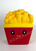 SquishyСквиш игрушка антистресс картошка фри