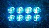 4 Светильника на солнечных батареях Disk lights - 4 штуки В Комплекте, фото 5