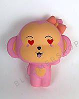 SquishyСквиш игрушка антистресс розовая обезьяна