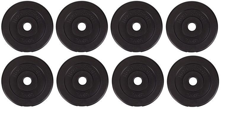 Диски (Блины) для Штанги Гантелей 8х2,5кг