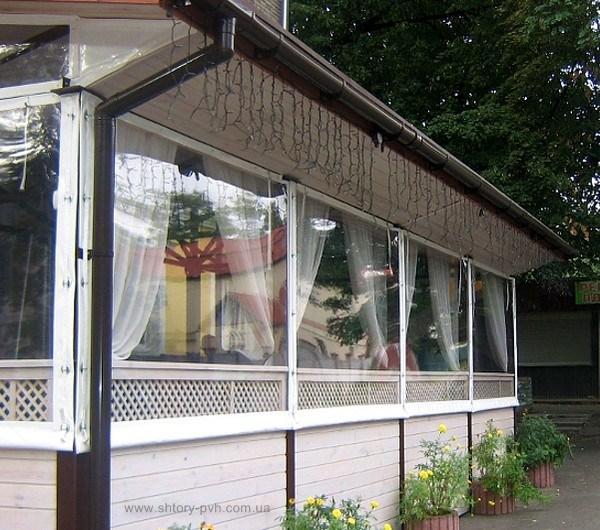 Тенты для летних кафе и ресторанов