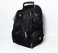 Рюкзак SwissGear с ортопедической спинкой 35L 7697 black