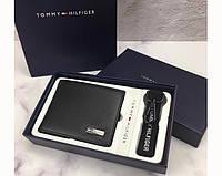 Мужское кожаное портмоне Tommy Hilfiger (044) подарочная упаковка, фото 1