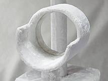 """Когтеточка """"майданчик"""" сірий Pethaus, 50 x 50 x 132 см;, фото 3"""