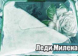 Открытое шерстяное одеяло полуторное , фото 3