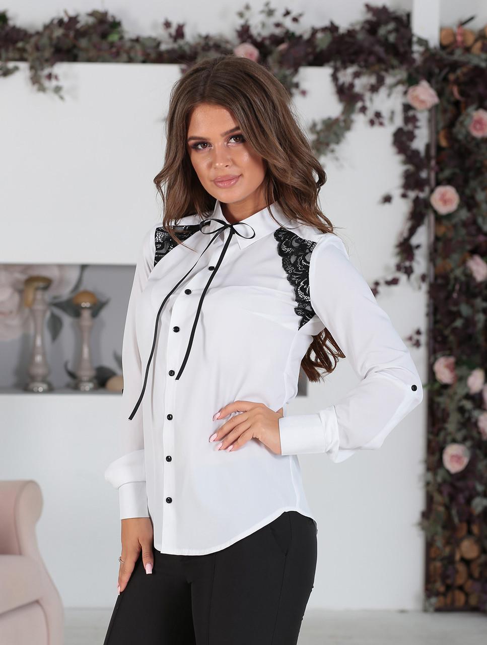 Белая Рубашка в деловом стиле