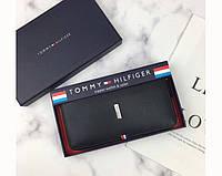 Мужской кожаный кошелек Tommy Hilfiger (072) подарочная упаковка