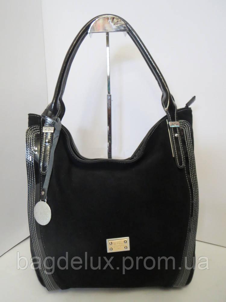 c61298e72327 Женская сумка Velina Fabbiano L829 - Bag De Lux - Интернет магазин сумок в  Харькове