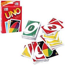 Настольная карточная игра Uno Уно, аналог Сто одно, эконом
