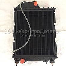 Радіатор водяний МТЗ Д-240 (4-х рядний)