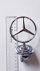 Эмблема прицел  Mercedes-Benz 140 штатная