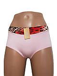 Жіночі трусики бавовна Обрізна лазерка, фото 9
