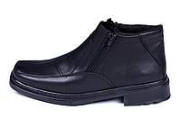 Мужские кожаные зимние ботинки Leon Квадро, фото 1