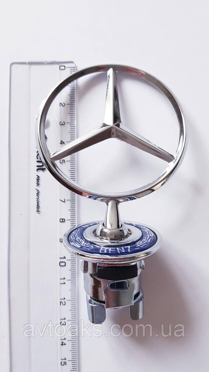 Эмблема прицел Mercedes-Benz 210 штатная