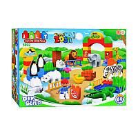 Конструктор JDLT 5092 Зоопарк (Аналог Lego Duplo) 69 деталей