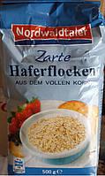 Овсянка мелкая Nordwaldtaler  Zartе Haferflocken 500гр. Германия