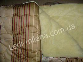 Открытое одеяло овчина полуторное , фото 3