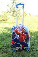 Детский чемодан на 4 колесиках Человек - Паук 22 литра