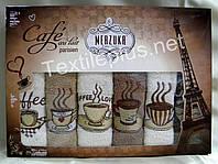 Рушники махрові кухонні - Merzuka - Paris - 6 шт.-30*50 -100% бавовна-Туреччина-(kod1635), фото 1