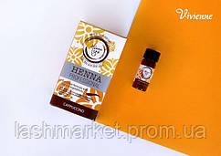 Хна Henna SPA Cappuccino  +минеральная вода (для окрашивания бровей)