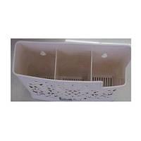 Підставка для фраже R85216 пластик, 19 * 14см, кухонне приладдя, лоток для столових приладів, посуд, кухня