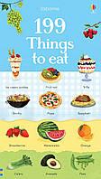 """Детская книга """"199 слов. Еда""""  для изучения английского языка"""