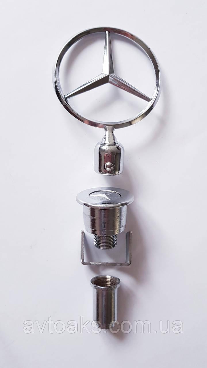 Эмблема прицел Mercedes-Benz 124 съемный