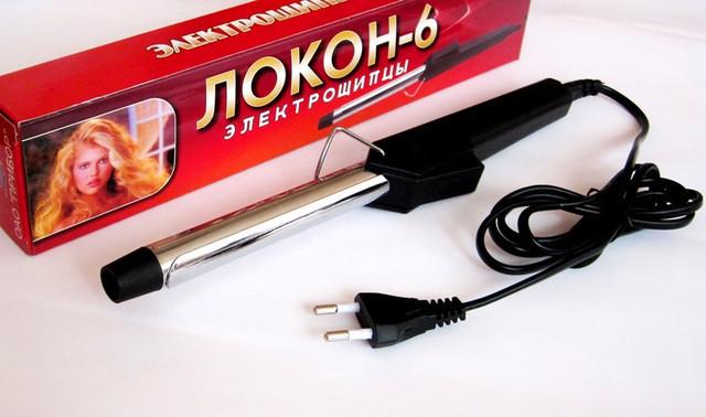 Плойка для волос Локон-6 S