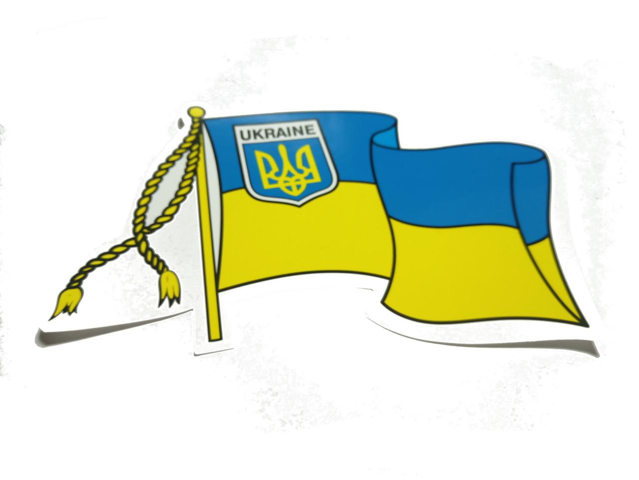 "Наклейка ""Прапор України"" шеврон"