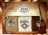 Полотенца махровые кухонные - Merzuka - Paris - 3 шт.-30*50 -100% хлопок-Турция-(kod1663), фото 1