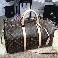 70e7c0f67dc0 Дорожная сумка Softsided Luggage Louis Vuitton Keepall 55 Monogram луи витон  реплика