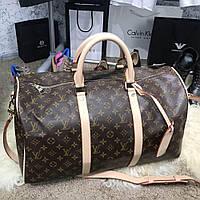 Дорожная сумка Softsided Luggage Louis Vuitton Keepall 55 Monogram луи  витон реплика 5a9724532036a