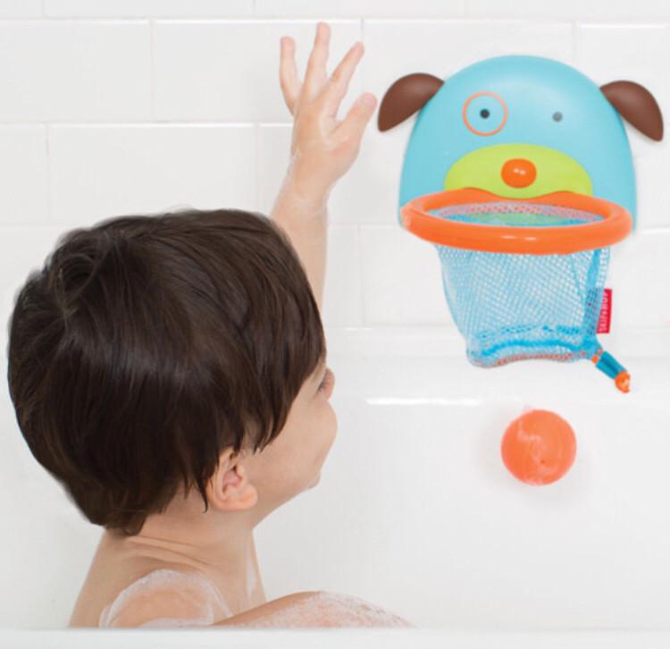 Игрушка в ванну Баскетбол на присосках, Skip hop
