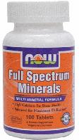 Минеральный Комплекс, Now Foods, Full Spectrum Minerals, 100 tab