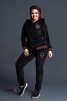 Спортивный костюм  женский батал  Gucci Реплика, фото 1