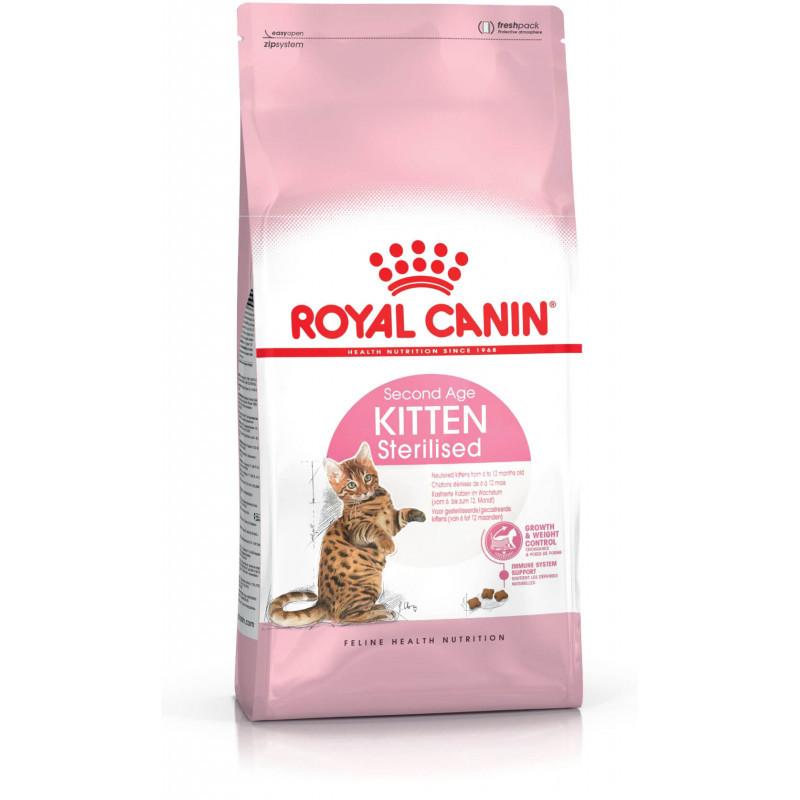 Корм для стерилизованных котят Royal Canin Kitten Sterilised - 2 кг