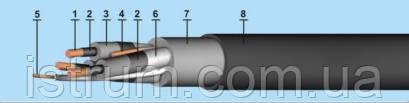 Кабель экскаваторный  КГЭ-хл 3х70+1х16-6