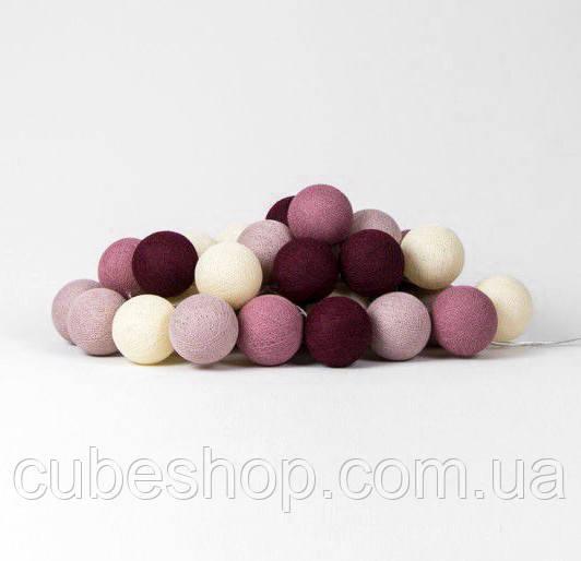 """Тайская гирлянда """"Rosegarden"""" (20 шариков) линия"""