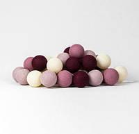 """Тайская гирлянда """"Rosegarden"""" (20 шариков) линия, фото 1"""