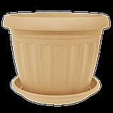 Квітковий горщик «Терра» 0.55 л, фото 8