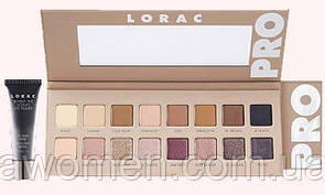 Тени Lorac Pro Palette 3 + Primer