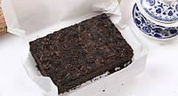 Шу пуэр 7562 – классика чёрного чая из китая, прессованный кирпич 250 г, способствует похудению и омоложению