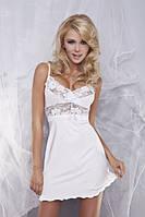 Женская ночная сорочка DKaren Ines с кружевом