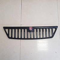 Решетка радиатора Газель нового образца черная с эмблемой (пр-во покуп. ГАЗ, ЗМЗ)