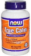 Тру Калм, Now Foods, True Calm Amino Acid, 90 Caps,