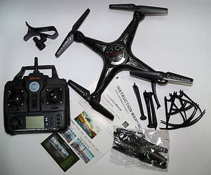 Квадрокоптер дрон X5SW-1 с камерой Wi-Fi и пультом управления (в стиле drone Syma X5SW) Xin Kai Yang